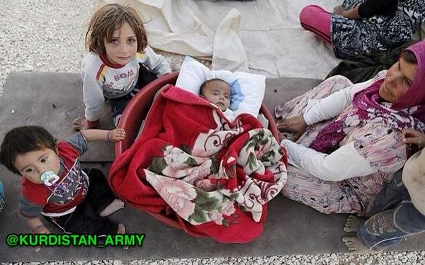 kurds children kobane