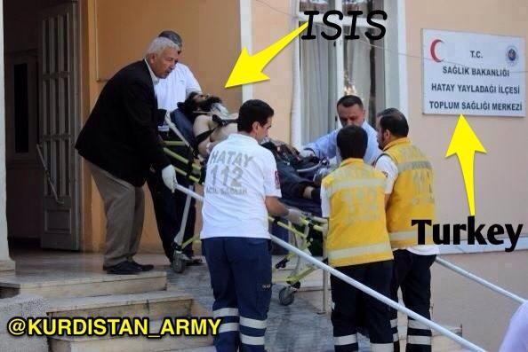 turkey army hospital isis