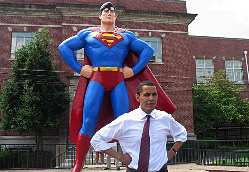 Whatever gave you the idea Obama was like Superman, you stupid voters.