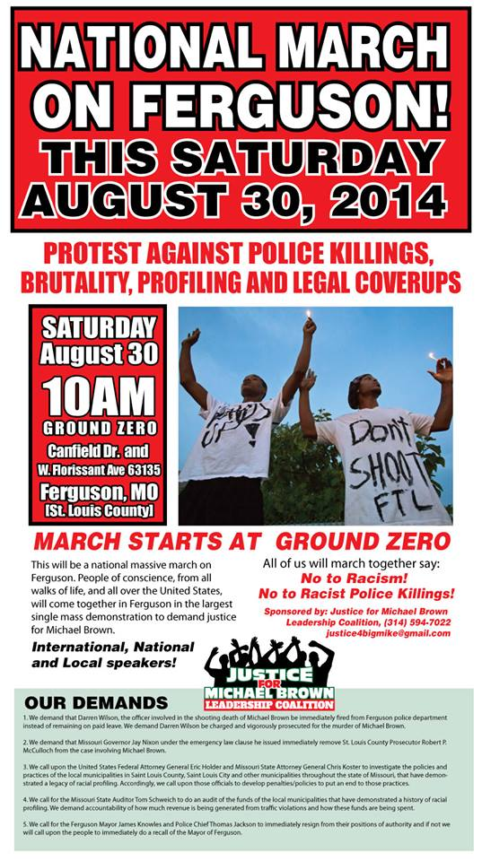 ferguson march sat