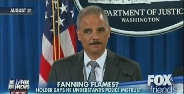 Eric Holder to GOP: 'You want to have a knife fight, we're gonna do it'