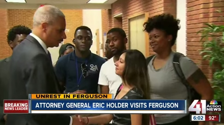 Pathetic. Holder Plays Race Card In Exit Interview – Urges Kids to Read Malcolm X
