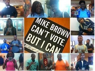 mike brown cant vote