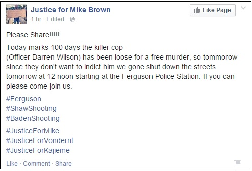 mike brown rally monday