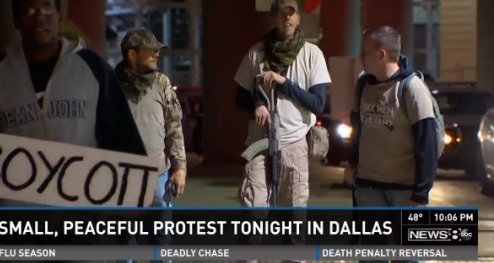 protest dallas open carry