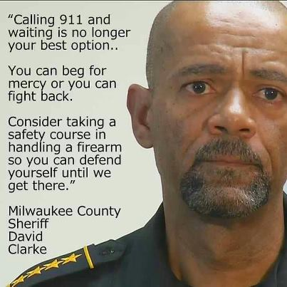 """EPIC Rant: Sheriff Clarke Says """"Obama Encouraged Rioters"""" (Video)"""