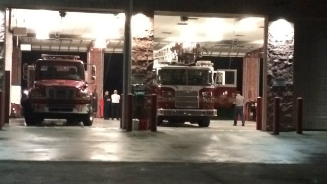 Jacksonville Fire Station 28, photo by WJXT-TV
