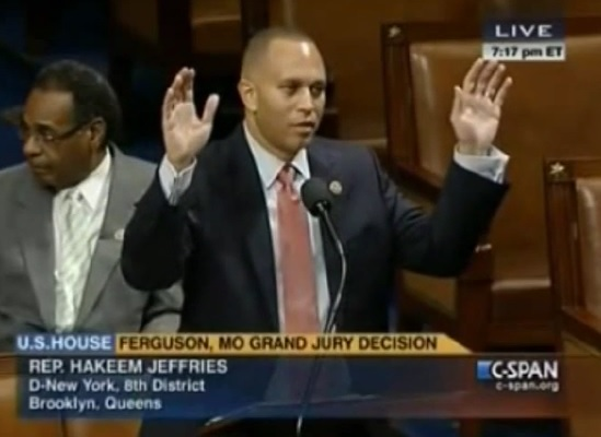 hands up democrats house floor