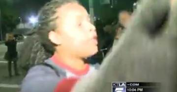 SHOCK VIDEO>>> Protesters Threaten to TORCH REPORTER for Covering Ezell Ford Vigil