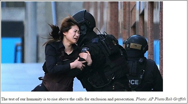 sydney herald hostage escape
