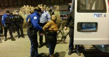 BREAKING: #Ferguson Protesters CUFFED & MACED After Storming St. Louis Police Headquarters