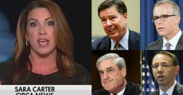 """WOW! Sara Carter Reveals FISA Memo Is So """"Explosive"""" That It Could END Mueller Investigation"""