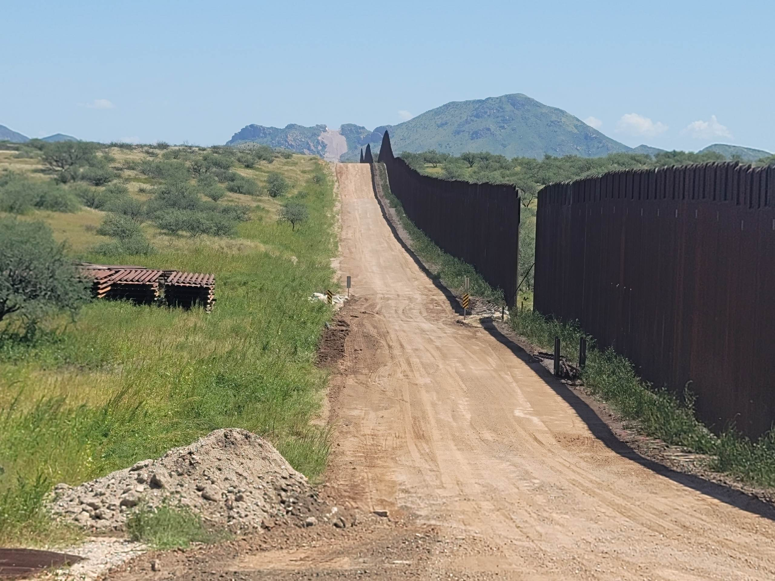EXCLUSIVE: Large Sections of the Border Wall Have Been REMOVED and Left WIDE OPEN Along Heavily Trafficked Drug Route in Southern Arizona