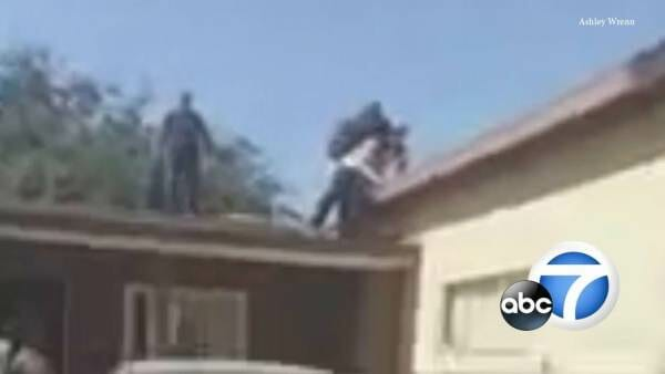 photo image 'That Sucker's Coming Down': 83-Year-Old Man Pushes Burglar Off His Roof (VIDEO)