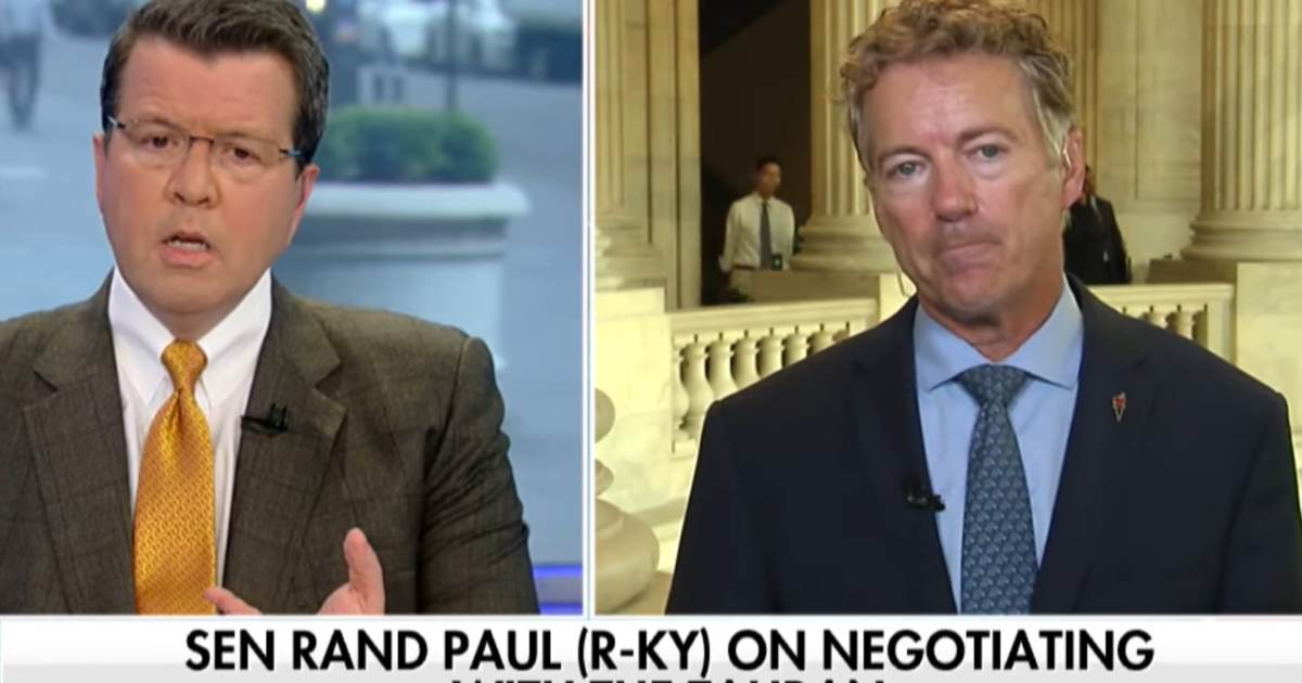 Rand Paul on John Bolton's Firing: 'The Chances of a War Worldwide Go Greatly Down'
