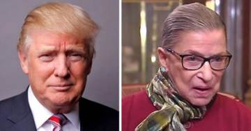 President Trump Sends Well Wishes for Supreme Court Justice Ruth Bader Ginsburg