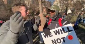"""""""As an African-American on MLK Day It's Critically Important"""" – Black Gun-Owner at Virginia Rally Speaks Out in Support of Second Amendment (VIDEO)"""
