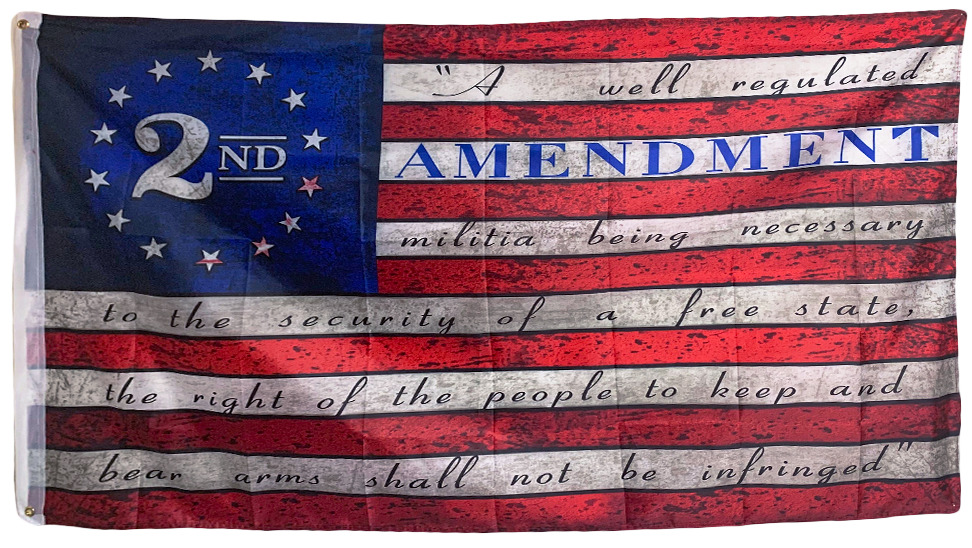 Special Offer: A Second Amendment American Flag For Free (Just Pay S&H)