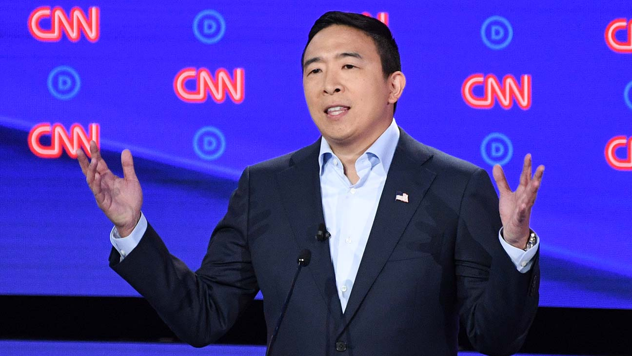 'CAN YOU STILL HEAR ME?' Andrew Yang Asked About Biden's 'You Ain't Black' Comment, Smiles Wanly, Doesn't Answer