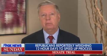 Senator Graham: Nancy Pelosi 'Orchestrated the Church of Holy Hell' Against Trump (VIDEO)