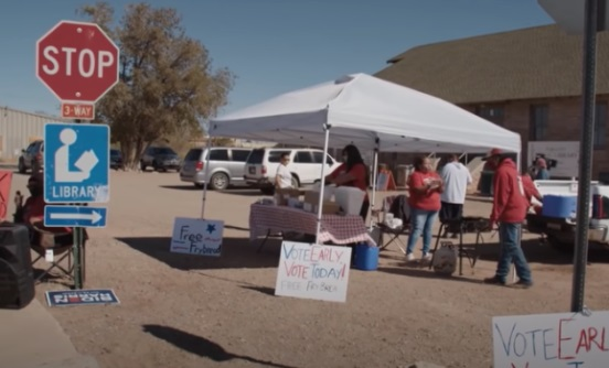 PROOF: Native Americans in Arizona Given TVs, Tablets, Resort Stays for Votes/Registering to Vote