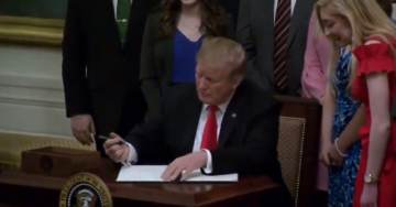 WATCH: President Trump Signs Executive Order to Protect Free Speech on College Campuses