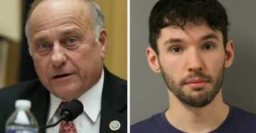 Liberals Celebrate the Man Arrested for Assaulting Rep. Steve King, Launch GoFundMe to Support Him