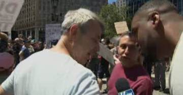 WATCH: Anti-Trump Protesters Hurl Racist Comments at Black Fox News Reporter