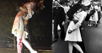 Iconic Statue of 'Kissing Sailor' Vandalized With #MeToo, Just Days After the Sailor's Death