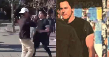 VIDEO: Leftist at UC Berkeley Violently Attacks Turning Point USA Member, Police Seek Help Identifying Suspect