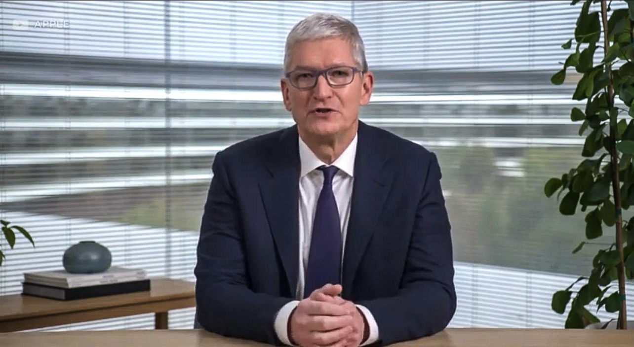 STUNNING! Tim Cook and Apple Condemn Voter ID Law in Georgia — Is Same Company that Developed Face ID to Open Your Phone!