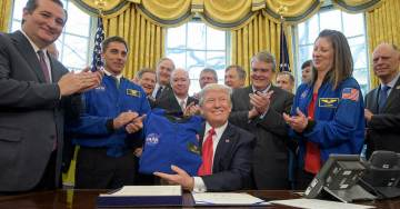 President Trump Directs NASA: Send Astronauts Back to Moon and to Mars!