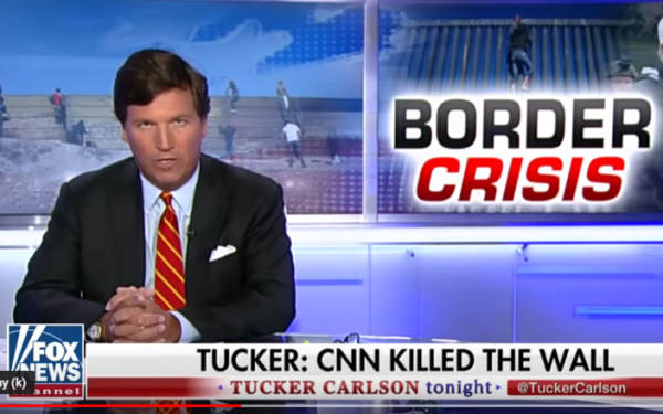 photo image Watch Tucker Carlson Absolutely Destroy Jim Acosta Over His Self-Own at the Border