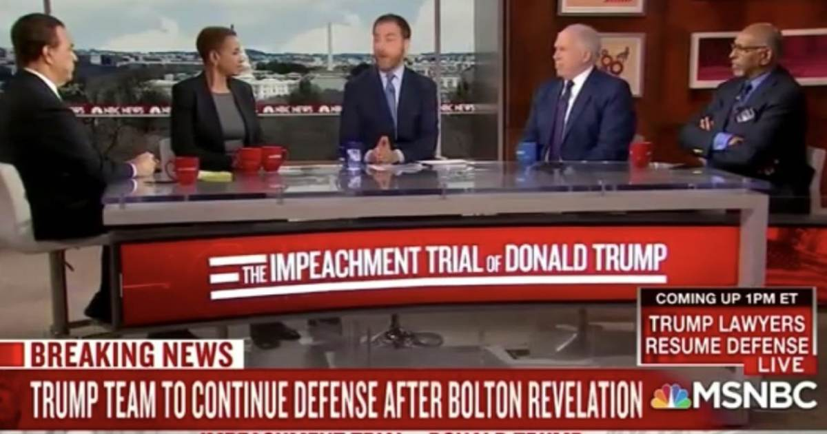 WATCH: MSNBC Panel Featuring John Brennan Calls for State of the Union to Be Cancelled