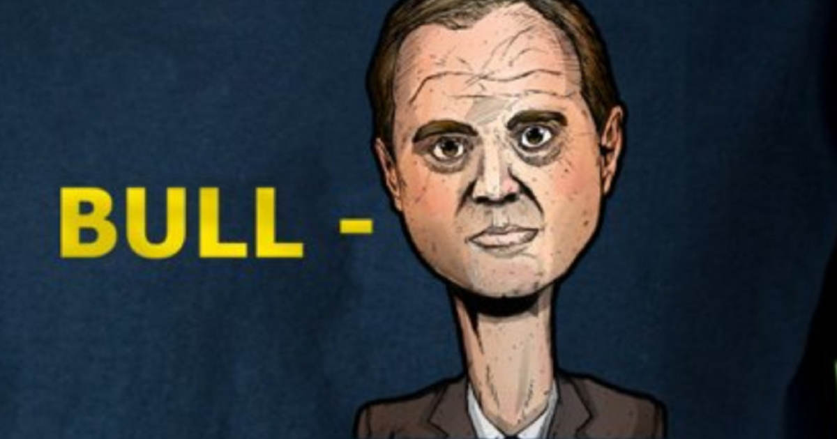 'Bull-Schiff': Trump Campaign Releases New T-Shirts Mocking the House Intelligence Committee Chairman