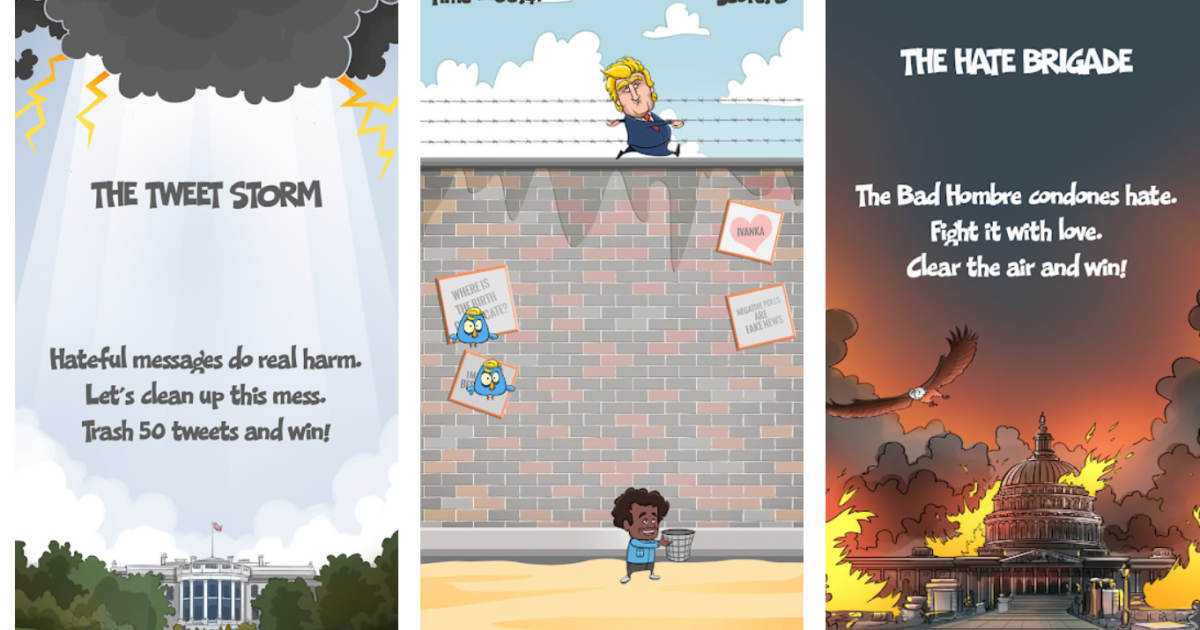 photo image SJW BACKFIRE: Anti-Trump Game Removed From Apple Store Over Satire