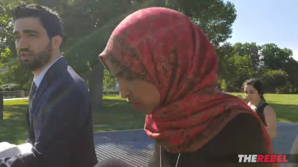 watch rep  ilhan omar speechless when confronted about her brother-husband