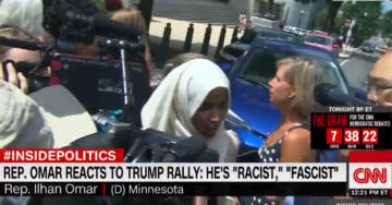 Rep. Ilhan Omar Reacts to 'Send Her Back' Chant, Says That it Proves Trump is 'Racist' and 'Fascist'