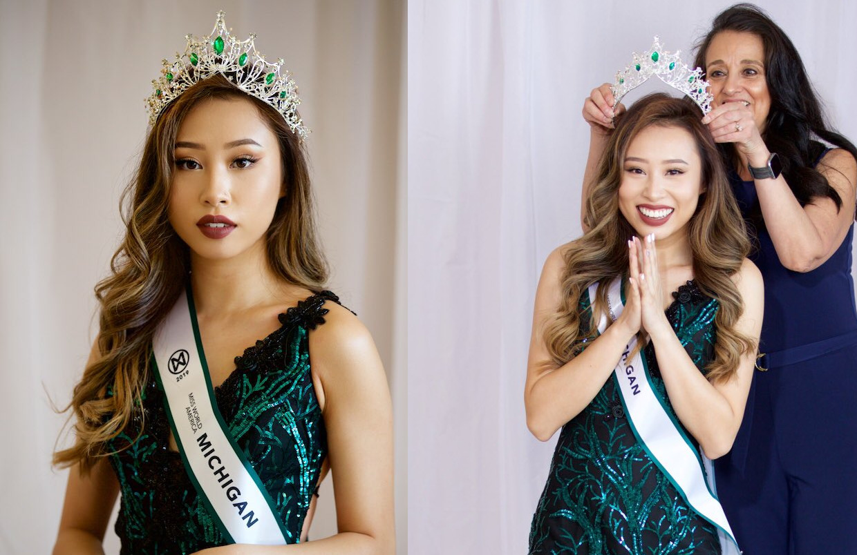 BREAKING: Miss World America Strips Conservative Activist Kathy Zhu of Miss Michigan Title Over Her Refusing to Wear Hijab