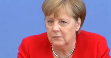 BREAKING: German Chancellor Angela Merkel Says She Declares 'Solidarity' With the Squad Over Trump