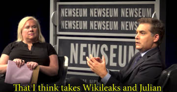 Jim Acosta Refuses to Condemn Espionage Act Being Used Against Julian Assange While Pretending to Defend a Free Press (VIDEO)
