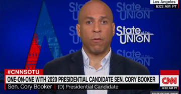 Sen. Cory Booker Declares Trump is a 'Demagogue, Fear-Mongering Person' Who is 'Worse Than a Racist'