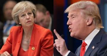 Pres. Trump Warned Theresa May, 'Focus on Radical Islamic Terrorism', Day After Muslims Arrested in Plot to Assassinate UK PM