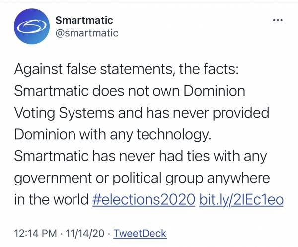 Smartmatic Denies Transfer of Technology to Dominion Voting Systems — Articles Scrubbed from Website — But Internet Archive Never Lies 2