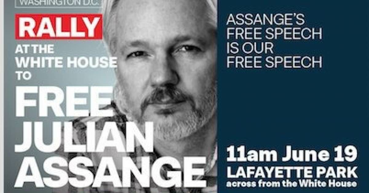 Worldwide Protests to Take Place on Sixth Anniversary of Julian Assange Entering the Ecuadorian Embassy