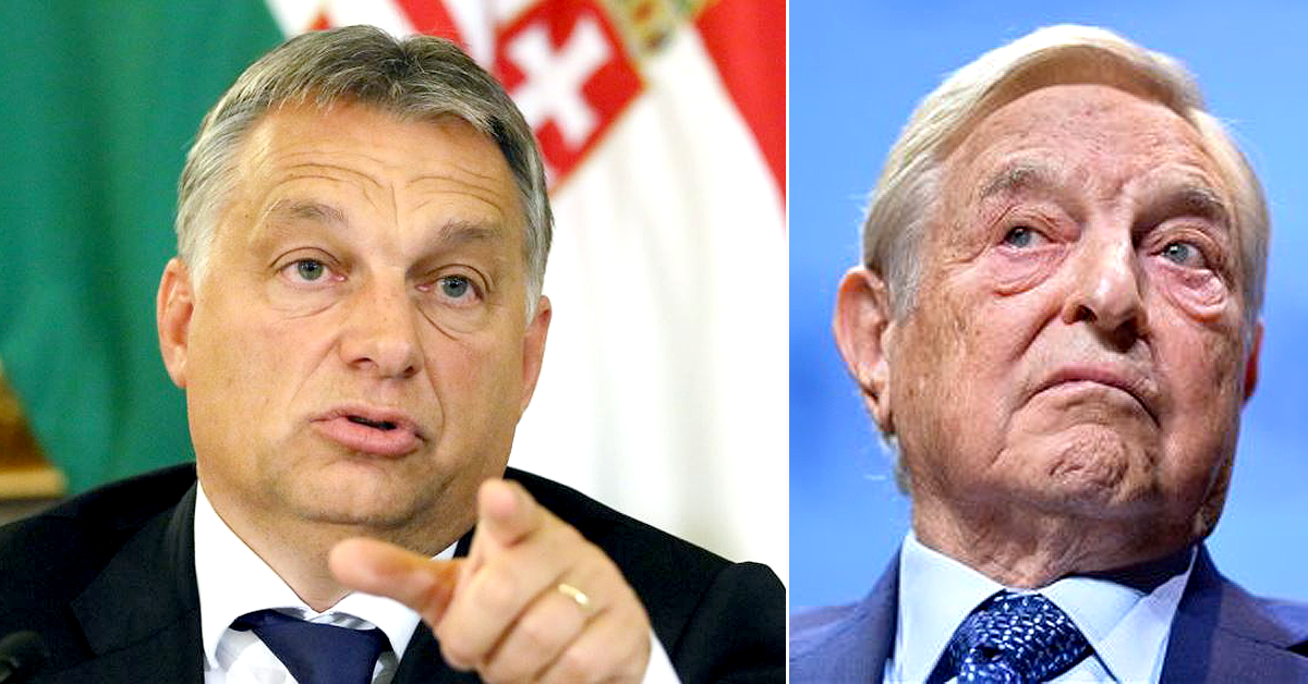 VICTORY! 'Mafia Boss' George Soros Withdraws from Hungary After Public Thrashing by Pro-Western Orban Government