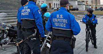 Capitol Police Arrest Male Democrat Operative For Pushing Female Trump Admin Official to the Ground