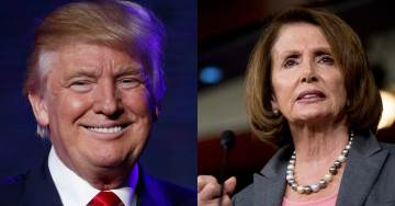 President Trump Zings Pelosi: 'If Pelosi Thinks Walls Are Immoral, Why Isn't She Requesting We Take Down All Existing Border Walls?'