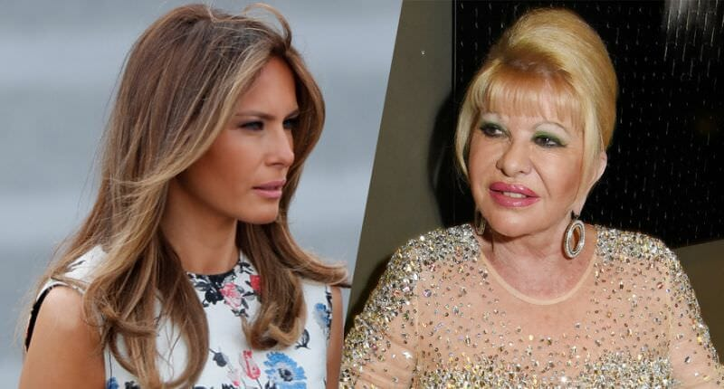 Ivana Trump says Im first lady, and Melania fires back