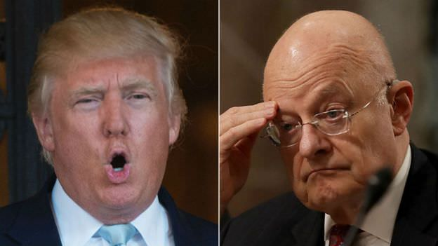Pres. Trump Slams Clapper, 'Criminal Deep State' in Tweet Storm: 'SPYGATE could be one of the biggest political scandals in history!'
